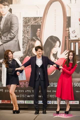 28日午後、ソウルのインペリアル・パレスホテルでドラマ 「天上の約束」制作発表会が開かれた。イ・ユリ、ソ・ジュンヨン、ソン・ジョンホ、パク・ハナ、イ・ジョンウォン、キム・ヘ
