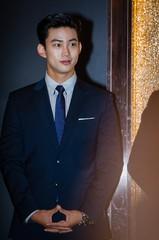 9日の午後、韓国ソウルのグランドアンバサダーホテル。KBS水木ドラマ「アセンブリ」制作発表会が開かれた。チョン・ジェヨン、ソン・ユナ、「2PM」テギョン、キム・ソヨン、チャン・ヒョ