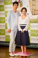 11日午後、韓国ソウル汝矣島の「63コンベンションセンター」で、KBSの新しい週末ドラマ「お願い、ママ」の制作発表会が開かれた。この日の発表会には、女優ユジン、コ・ドゥシム、キム・