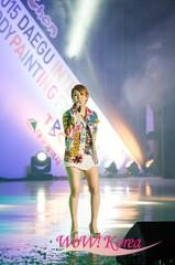 「私は歌手だ」ソ・チャンフィ、チュ・ガヨル、「トロット皇太子」シン・ユが30日、ドリュウ公演で開かれた「2015大邱国際ボディー・ペインティング・フェスティバル」で記念公園を行って