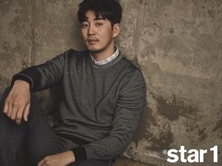 俳優ユン・ゲサン、画報公開。雑誌「star1」