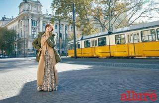 女優ファン・ジョンウム、画報公開。雑誌allure。 (2枚)