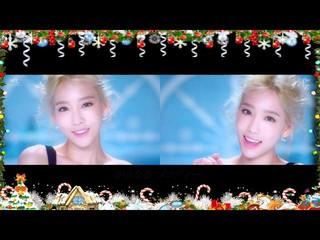 【動画】【日本語字幕】少女時代 テティソ - Dear Santa、日本語の歌声。