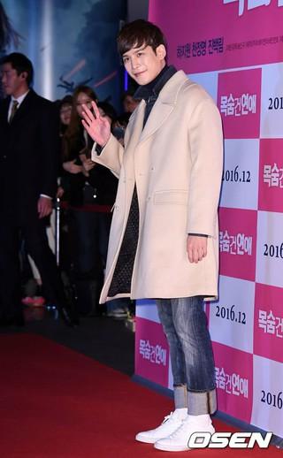 俳優パク・ギウン、映画「命を賭けた恋愛 」VIP試写会に出席。@ソウル・往十里(ワンシムニ)CGV