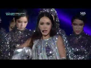 【動画】オム・ジョンファ Uhm Jung Hwa 8年ぶりのカムバック舞台 - Watch Me Move、俳優オム・テウンの実姉 @ 2016 SBS 歌謡大典