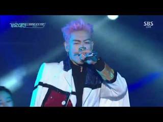 【動画】BIGBANG T.O.P フィーチャリング、オム・ジョンファ - DISCO  @ 2016 SBS 歌謡大典