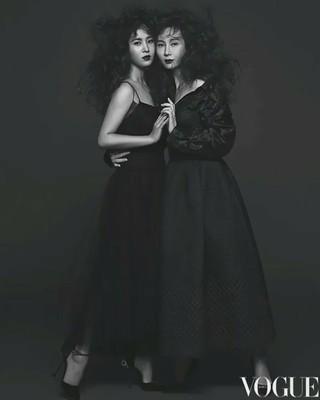 【動画】少女時代 ユリ、女優チェ・シラ、画報公開。雑誌VOGUE。