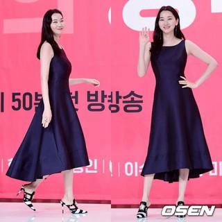 モデルのチャン・ユンジュ、オンスタイル「Get It Beauty」の制作発表会に出席。23日午前、アモリスホール。