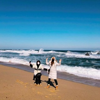 """妊娠6か月の""""プレママ""""パク・ハンビョル、SNS更新。寒さの中で江陵(カンヌン)美味しい物ツアーを満喫!"""