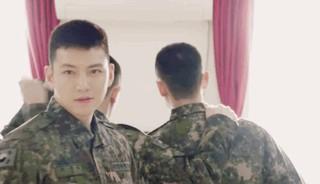【動画】軍隊の俳優チ・チャンウク、近況が公開。●平昌(ピョンチャン)オリンピック、我が陸軍が一緒にします。
