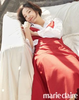 女優キム・ゴウン、画報公開。雑誌「marie claire」