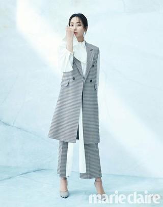 女優ソン・ユナ、画報公開。marie claire。