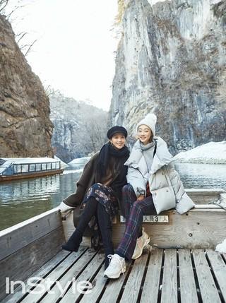 女優オ・ユンア &チェ・ヨジン、画報公開。InStyle。岩手旅行をコンセプトに。