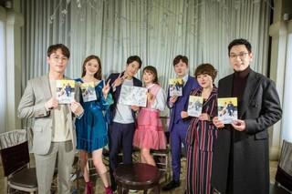 ドラマ「推理の女王2」出演の俳優クォン・サンウ、チェ・ガンヒ らが28日の放送を前に団体ショットを公開。
