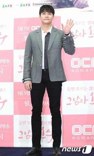 5urprise カン・テオ、OCNドラマ「その男のオ・ス」制作発表会に出席。