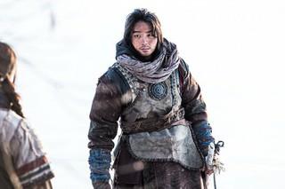 俳優ユン・シユン、ドラマ「大君-愛を描く」撮影現場写真。