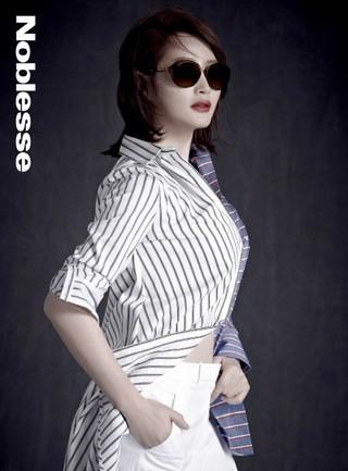 女優キム・ヘス、画報公開。Noblesse。