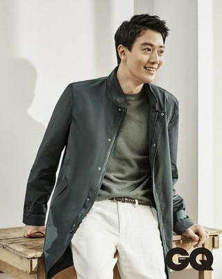 俳優キム・レウォン、画報公開。「GQ KOREA」。