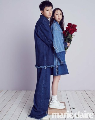 Wonder Girls 出身アン・ソヒ&ヨン・ウジン、カップル画報公開。marie claire。