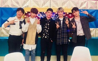BIGBANG V.I、Wanna Oneとの集合写真を公開。●番組「ラジオスター」の収録。俳優チャ・テヒョン も。●オンエアーは21日。