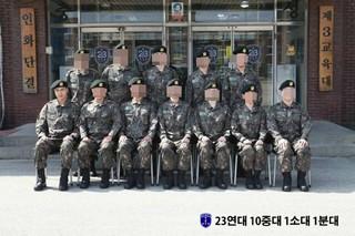 俳優イ・ミンホ、軍隊での写真を公開。