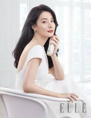 女優イ・ヨンエ、写真公開。「ELLE」4月号。
