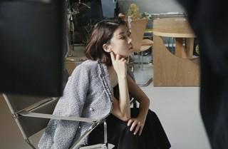 女優イ・ボヨン、画報撮影の現場が公開。