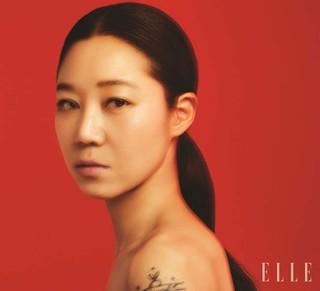 女優コン・ヒョジン、画報公開。「ELLE」。