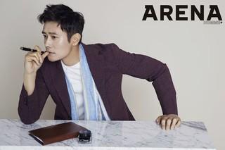 俳優イ・ビョンホン、画報公開。雑誌「ARENA」。