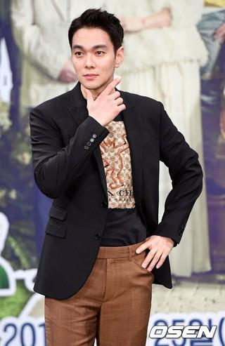 俳優イ・ギュハン、MBC新週末ドラマ「金持ちの家の息子」制作発表会に出席。