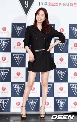 女優チョン・ヘビン、Fashion N「Follow Me9」の制作発表会に出席。