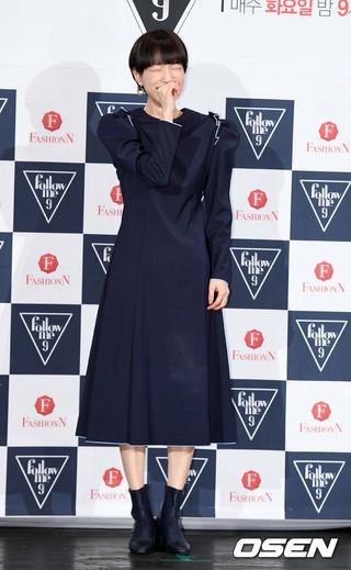 女優ソン・スヒョン、Fashion N「Follow Me9」の制作発表会に出席。