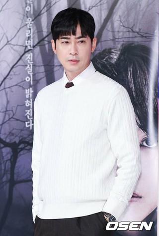俳優カン・ジファン、ソウル市内で行われた新ドラマ「小さな神の子どもたち」の記者懇談会に出席。
