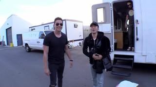 俳優イ・シオン、米ハリウッドを初訪問しダニエル・ヘニーと対面。