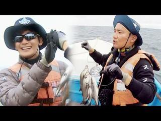 【動画】【公式sbe】チョ・ユヌ、魚のメダルを授与するチョ・ジェユンに「困惑」キム・ビョンマンのジャングルの法則30 9回20180330公開。