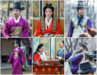 俳優ユン・シユン チン・セヨン,チュ・サンウク、ドラマ「大君-愛を描く」のビハインドカット公開。