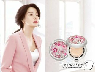 女優イ・ヨンエ がモデルのLG生活健康の化粧品ブランド「后(フー)」、美白モイスチャークッションスペシャルエディション発売。