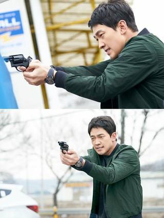 JTBC新金土ドラマ「スケッチ」、Rain(ピ) の初スチールカットを公開。