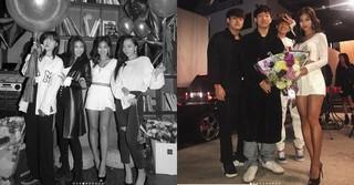 女優キム・ヒジョン、誕生日パーティーの写真公開。ナム・テヒョン や楽童ミュージシャンのイ・スヒョン、SISTAR出身ボラなどがお祝い。