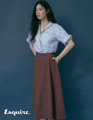 女優チョン・ウンチェ、画報公開。Esquire。