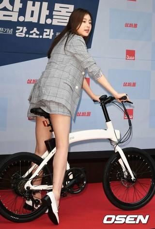 女優カン・ソラ、ファンサイン会。追加分。●自転車ブランドの公式ストア、オープン記念。