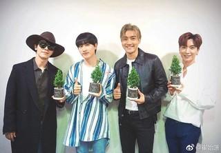 【I公式】Super Junior チェ・シウォン、4月22日アースデイ迎え写真公開。「これまで僕たちが一緒に造成した森は34か所、植えた木はなんと17000本です!」。