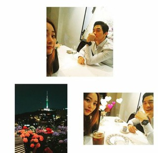 俳優ユ・ジテ -キム・ヒョジン夫妻、幸せなデート写真を公開。