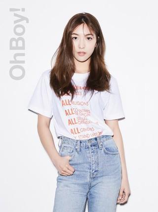 女優キム・ヒョジン f(x) ルナ、キャンペーン画報公開。「OhBoy!」。