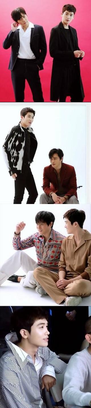 ファッション誌「HIGH CUT」、俳優チャン・ドンゴン ZE:A パク・ヒョンシク の画報ビハインド映像公開。