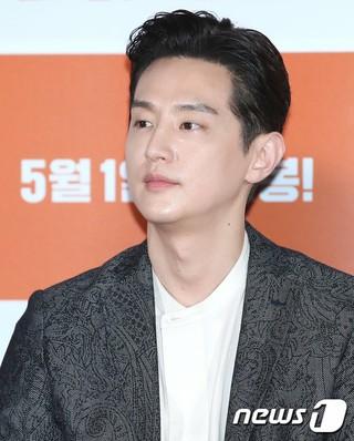 俳優クォン・ユル、映画「チャンピオン」マスコミ試写会に出席。26日午後。