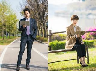 俳優チャン・グンソク 女優ハン・イェリ、ドラマ「スイッチ」撮影現場ビハインドカット公開。
