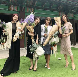女優ソ・ヒョリム、女優ハン・チェア&チャ・セッチ氏の結婚式での写真を公開。