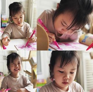S.E.S. ユジン、夫キ・テヨン との娘ロヒちゃんの日常を公開。塗り絵をするラブリーな姿。