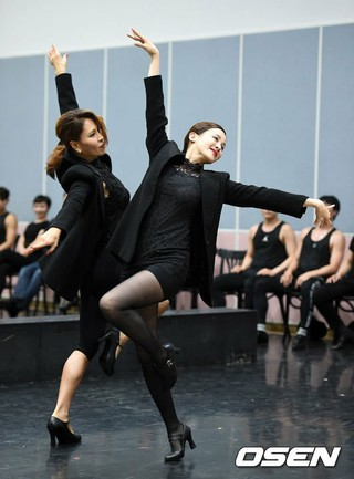 IVY とチェ・ジョンウォン ら、ミュージカル「シカゴ」の公開練習に参加。
